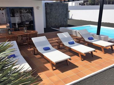 Photo for Villa Miramar C7 is a beautiful modern villa with private heated pool, AC