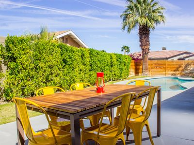 Photo for ★ Book Palm Springs Mid-Century Ranch ★ | Pool + BBQ + Amenities