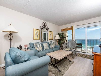Photo for Open, updated, gulf front condo, Great views, Close to entertainment