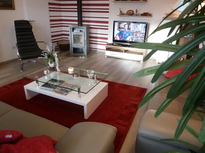 Photo for Das Haus Gabionen 5 ***** apartment, 105 m2 und ECARF (Allergy) 5 *****