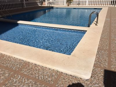 Photo for Apartment in Torrevieja with pool