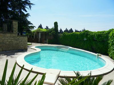 Photo for Quiet and tranquility near the alpilles in this house with swimming pool