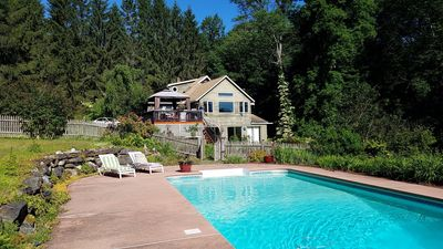 Photo for Berkshire Oasis with Pool Sleeps 8- West Stockbridge