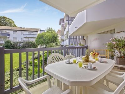 Photo for Bright 2br flat with terrace and parking in Anglet center - Welkeys