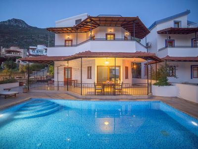 Photo for 3 Bedroom Villa with Private Pool and Sea Views, not far from the centre