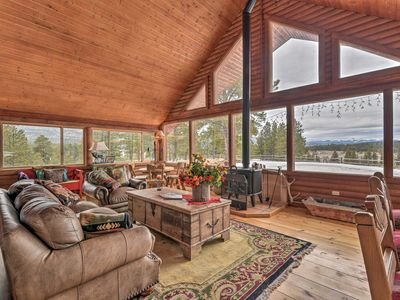 Photo for Grand Home w/Mtn Views - 7 Mi to Angel Fire Resort