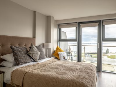 Photo for Deluxe 2 bedroom Sea View apartment in Salthill, Galway
