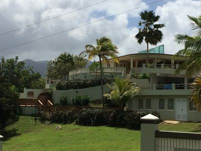 Villa with ocean and mountain views in the foothills of El Yunque