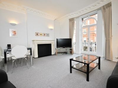 Photo for 2 bedroom 2 bath minutes from Oxford Street and Marylebone High Street
