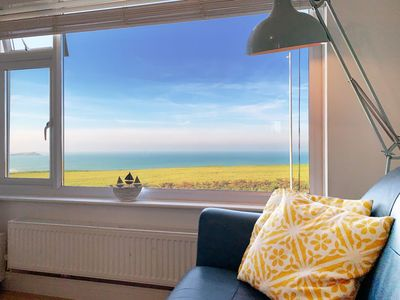 Photo for Coastline is a 1st floor 2 bedroom beautiful cliff top apartment