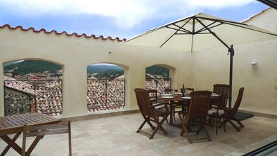 Photo for Large village house with roof terrace to 8 people