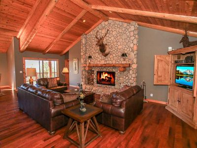 Photo for ~Heavens View~Elite Log Home Estate~Furnished & Equipped~