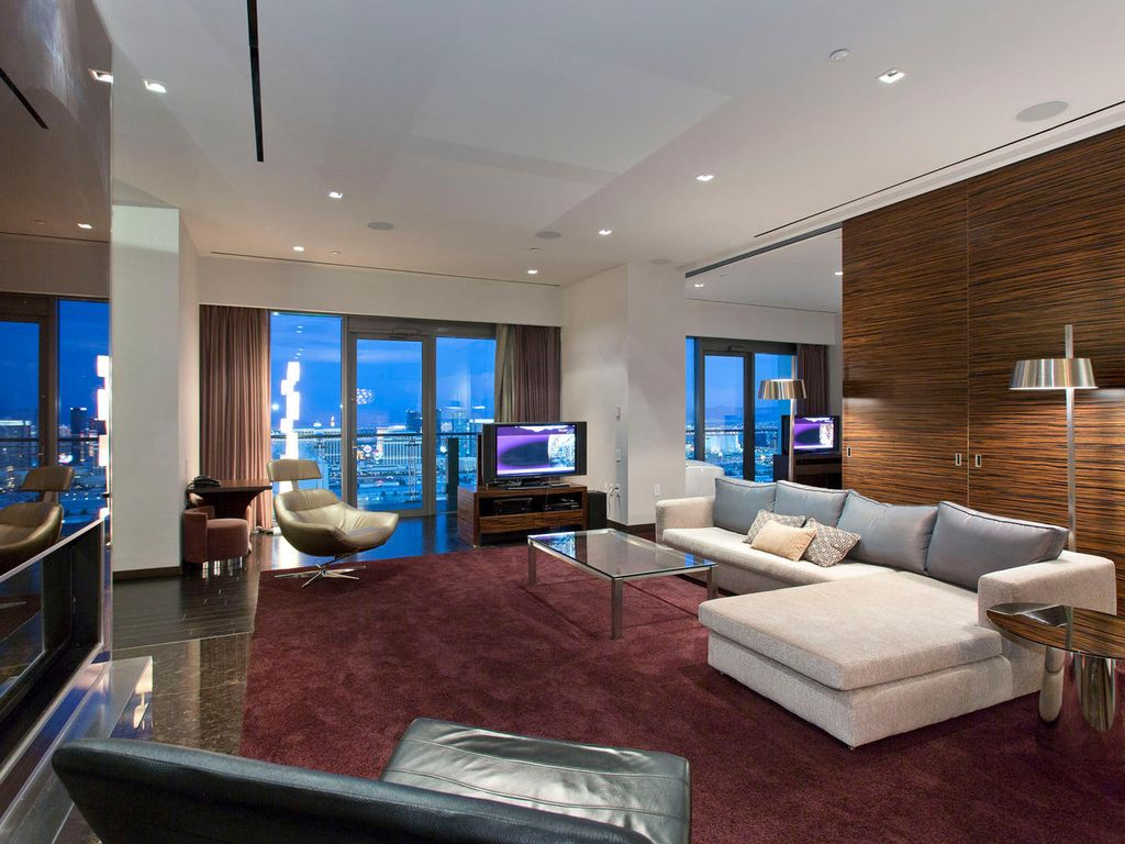 One Bedroom Suite At Palms Place Palms Place Penthouse 57th Floor Heated Homeaway Las Vegas
