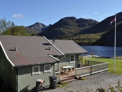 Photo for Vacation home Dalen in Jørpeland - 8 persons, 3 bedrooms