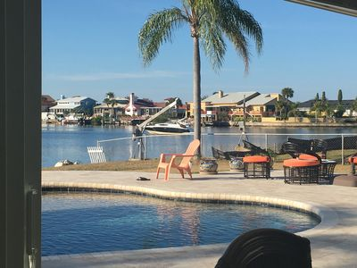 Photo for Waterfront, Gulf View, Sunsets, Beach Access. Fishing, Pool.