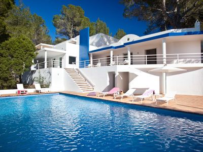 Photo for VILLA CAN HERMANOS: Free Wifi, private pool and sea views.