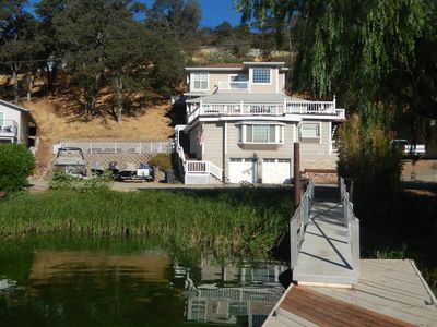 Photo for Relax or Play-Stunning 5 Bedroom Lakefront on Clear Lake with Spectacluar Views