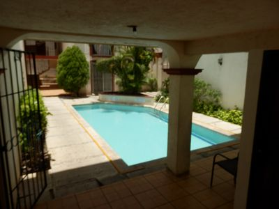 Photo for Beutifil prive flat with pool / hermoso departamento con alberca