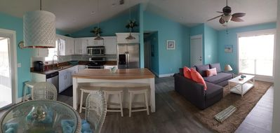 Open concept - Living, Dining, Kitchen