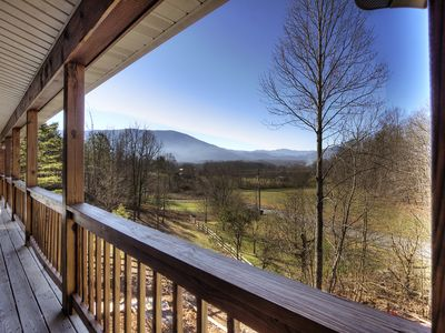 Photo for NEW TO VRBO / Wonderful views, easy access,  hot tub, game room, 14 people