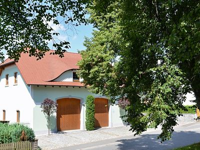Photo for Large apartment located directly at the Jakobsweg - two complete residential units, private garden