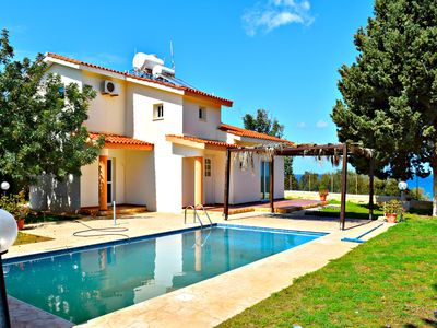 Photo for Latchi Villa - Tourist Location - Stunning Sea Views - Private Pool - Wifi