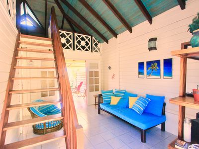 Photo for 1BR Bungalow Vacation Rental in SAINT ANNE, Le Marin
