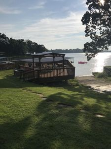 Photo for Waterfront condo new to VRBO gives direct main lake views