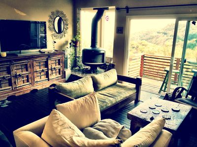 Photo for BEAUTIFUL RUSTIC HOME IN THE HOLLYWOOD HILLS WITH BREATH TAKING VIEWS OF LA!!