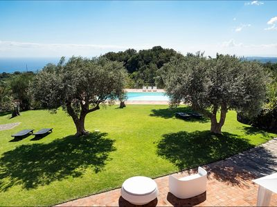 Photo for Villa Pisacco in eastern Sicily, with private pool, 6 bedrooms, 12 sleeps