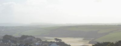 View of Gannel Estuary from back balcony