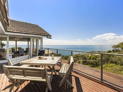Photo for Holiday Shacks - Seascape Retreat - Luxury Retreat with water views, beach access, fireplace, WiFi