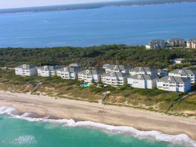 Our Oceanfront condo is in building C! Next to the heated pool & beach walkway!