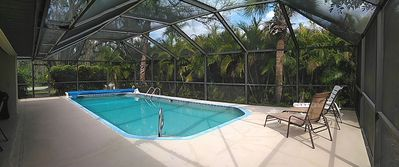Photo for Modern holiday villa with heated pool in a quiet location