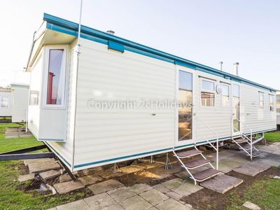 Photo for 8 berth caravan for hire at California Cliffs Holiday park Norfolk ref 50020H