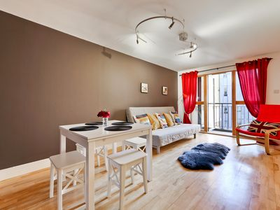 Photo for MODERN 2BED 2BATH APARTMENT 3minutes from THE STATION