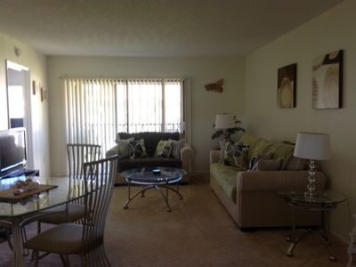 Photo for Florida Gulf coast condo ideally located for golf, beaches and theme parks