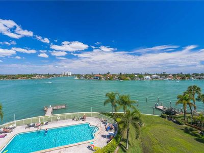 Photo for The Palms of Treasure Island 309, 2 Bedrooms, WiFi, Jetted Tub, Pool, Bay Front, Sleeps 6