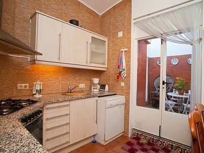 Photo for Apartment in the center of Vilassar de Mar with Internet, Terrace, Washing machine (88875)