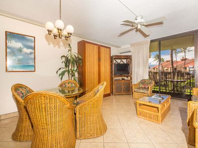 Photo for Island Energy in Suite w/Lanai, Washer/Dryer, WiFi, Kitchen–Kamaole Sands 7302
