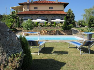 Photo for Holiday Apartment in the hills of the Piedmont with 300 ° panoramic view