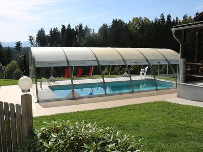 Photo for Apartments Penzkofer Himmelwies south slope with pool