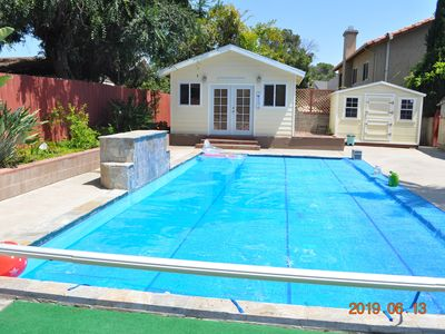 Photo for Single story pool house close to SDSU and San Diego downtown