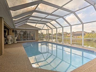 Photo for Canalfront Cape Coral House w/Private Pool & Lanai