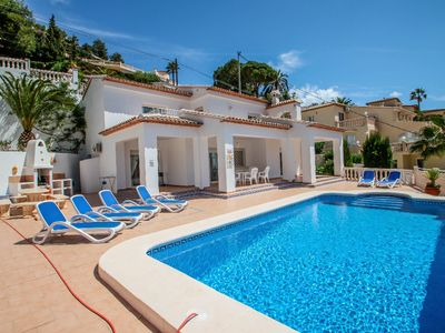 Photo for Sesam - sea view villa with private pool in Moraira