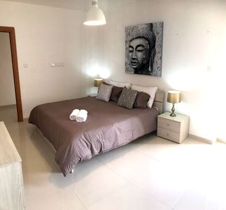 Photo for Galaxy Apartment FLT 6 apartment in Bugibba with WiFi, air conditioning, private terrace, balcony &…