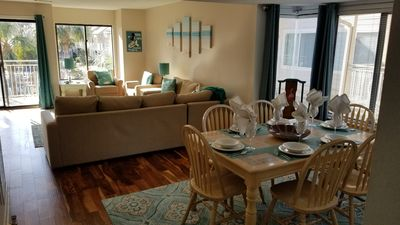 Photo for 2019 Updated Courtside Villa - Short Stroll to the Beach, Shops and Restaurants
