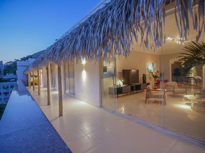 Photo for Rio088 - Beautiful 6 Bedroom penthouse in Ipanema