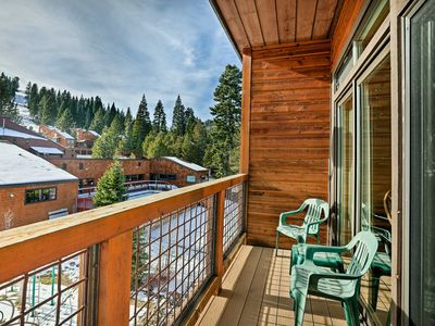 Photo for Condo w/Mtn View - Steps to Tahoe Donner Amenities