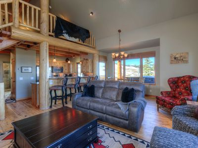 Photo for Views, Views, Views! Private Home With Luxurious Finishes and Great Ski Access!